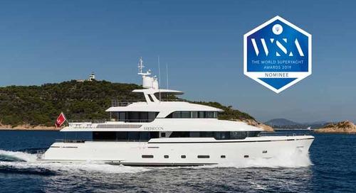 M/Y Brigadoon finalist in World Superyacht Awards 2019