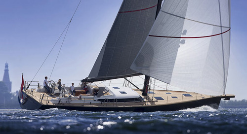 The first new flagship 26m Contest 85CS