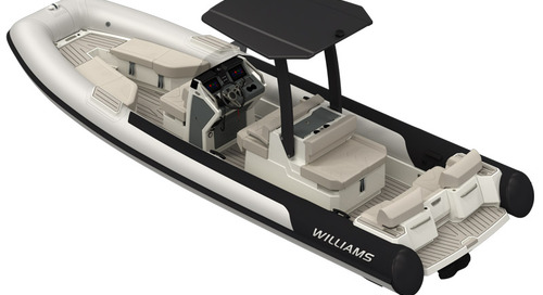 Williams Jet Tenders designed for the superyacht sector