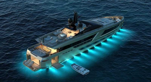 CCN's fifth Fuoriserie motor yacht 40m