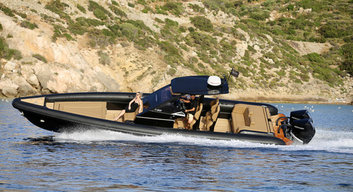 Smooth riding TECHNOHULL 38 Grand Sport  is becoming a family favourite