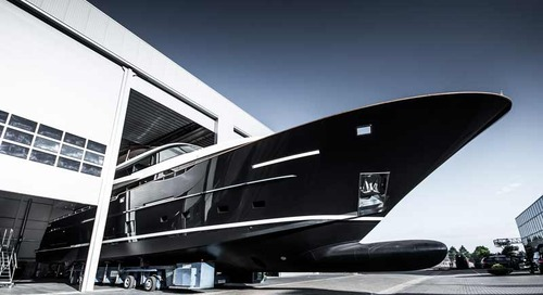 Jangada 2 launched: 32-metre custom superyacht