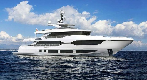 Majesty 120 Superyacht revealed