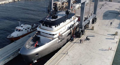 Andrea Merloni's Floating Life-designed Super Yacht