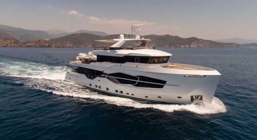 Numarine launched Hot Lab decoration package for the 32XP superyacht range