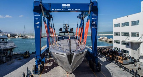 Pershing launches the first unit of its new flagship Pershing 140