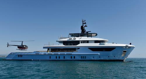Sanlorenzo Superyacht at Monaco Yacht Show