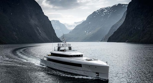 58m Najiba in Norway: a study in style and efficiency
