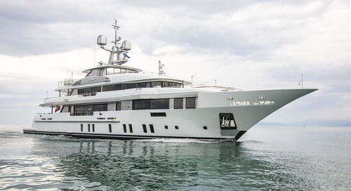 49m ELALDREA+ superyacht delivered by Benetti