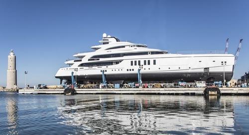 METIS: A 63m full custom mega yacht by Benetti