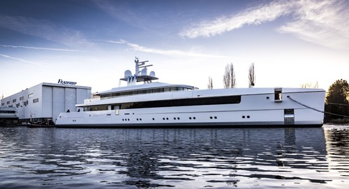 Noble 58m Najiba is launched by Feadship
