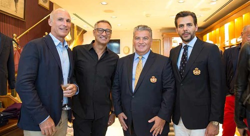 Brooks Brothers & Ferretti Group hosted a cocktail reception to celebrate the Monaco Yacht Show
