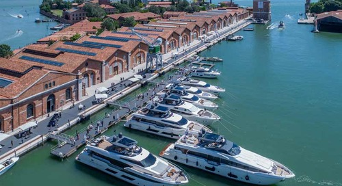 Art and boating in the Arsenale