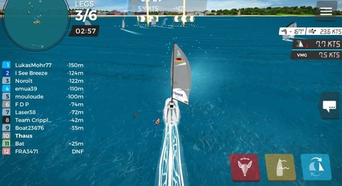 A Virtual Regatta at boot Düsseldorf