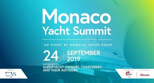 Monaco Yacht Summit | 24 September 2019