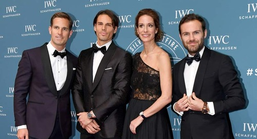 IWC celebrates it's new Pilot's Watches with a spectacular Gala