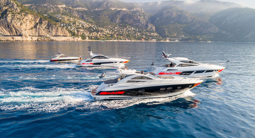 Sunseeker Teams Up With Red Bull Racing Formula One