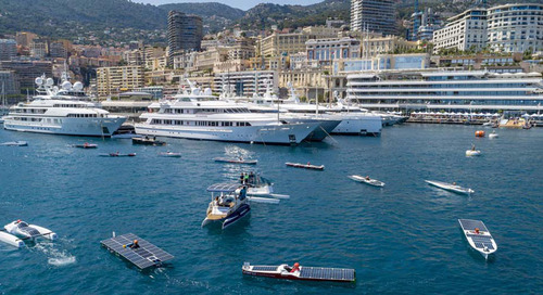 New yacht propulsion systems unveiled and trialled in Monaco