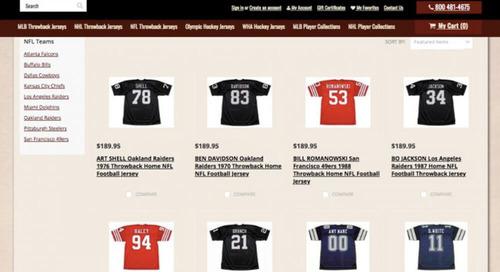 Spotlight: Custom Throwback Jerseys Sells Nostalgic Sports Gear
