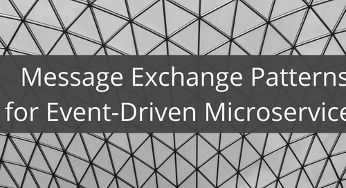Message Exchange Patterns for Event-Driven Microservices