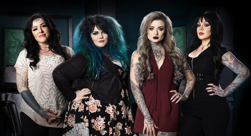 Spike: Ink Master: Angels [New Series]