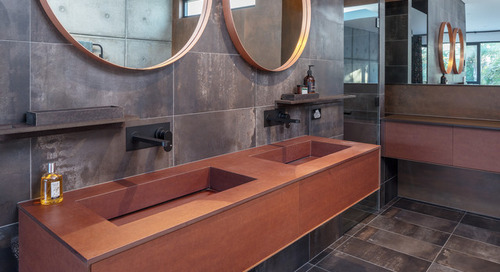 Are These Sustainable Bathroom Countertop Materials for You? (11 photos)