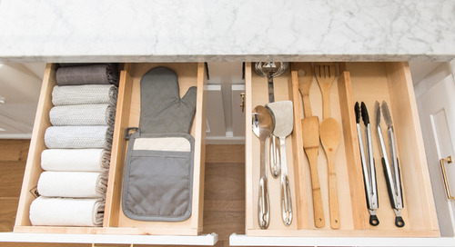 How to Store Kitchen Tools and Flatware (22 photos)