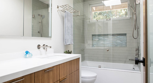 Bathroom of the Week: Warm and Contemporary in 50 Square Feet (8 photos)