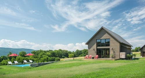 Houzz Tour: Modern Barn Home for a Simpler Life in Vermont (20 photos)
