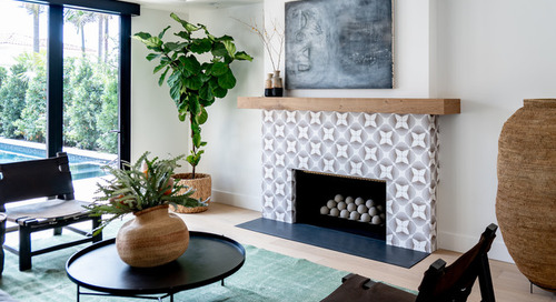 Airy Modern Style With Punches of Pattern and Warmth (22 photos)