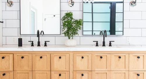 34 Striking Bathroom Vanities (35 photos)