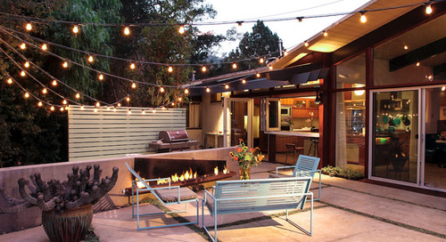 How to Hang String Lights Outdoors (11 photos)