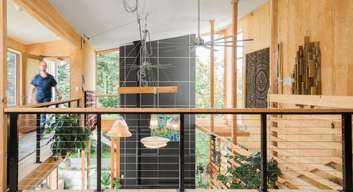 Houzz Tour: Raw Materials Form an Open Passive-Solar House (15 photos)