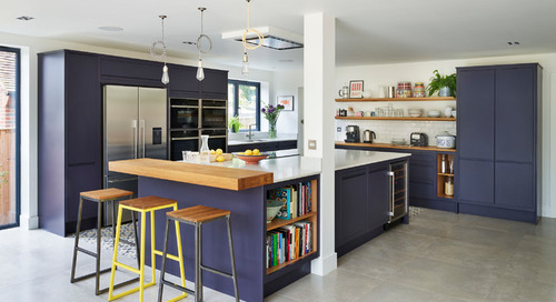6 Places to Punch Up a Kitchen With Purple (9 photos)
