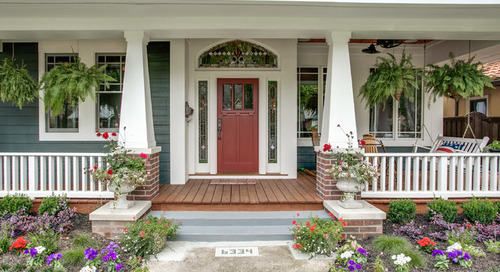 How to Create a Friendly Front Porch (12 photos)