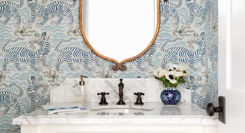 The 10 Most Popular Powder Rooms So Far in 2019 (10 photos)