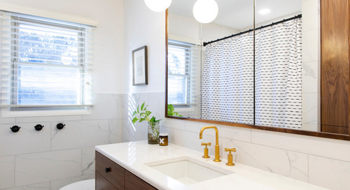 Bathroom of the Week: A Stylish Mix of Walnut and White (7 photos)