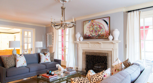 Color, Heirlooms and Artwork Refresh a Kansas City Home (24 photos)