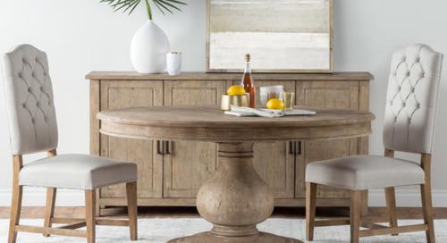 This Season's Bestselling Dining Furniture (124 photos)