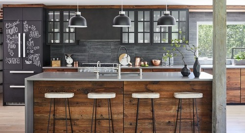 How to Make the Most of a Single-Wall Kitchen (12 photos)