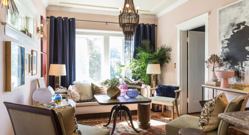 Color, Pattern and Dramatic Lighting Energize a Rental Home (21 photos)