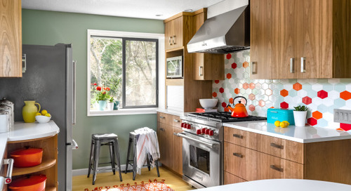 Kitchen of the Week: Colorful Cookware Inspires the Design (6 photos)