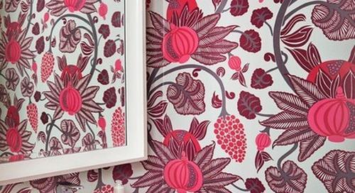 Powder Room Palettes: 10 Pinks That Pop (10 photos)