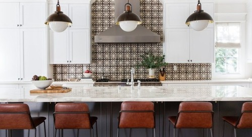 Where to Start and Stop Your Backsplash (24 photos)