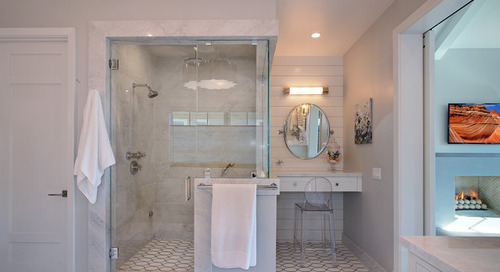 Where to Hang Towels in the Bathroom (10 photos)