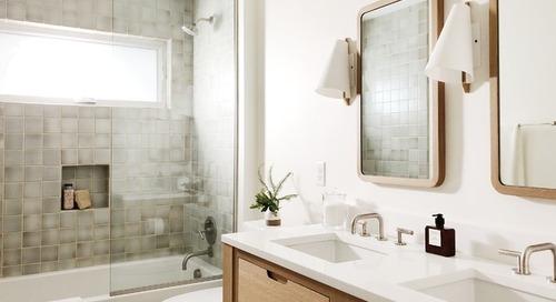 Bathroom Remodel Brings Back the Midcentury Modern Spirit (6 photos)