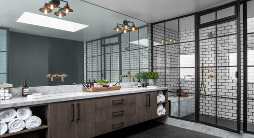 Your Guide to an Industrial-Style Bathroom (11 photos)