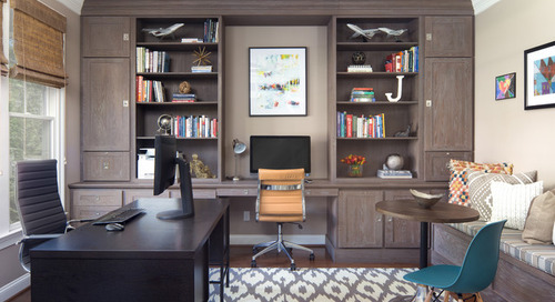 Key Measurements to Help You Design the Perfect Home Office (13 photos)