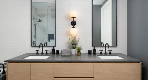 Bathroom of the Week: Scandinavian Modern Simplicity (7 photos)