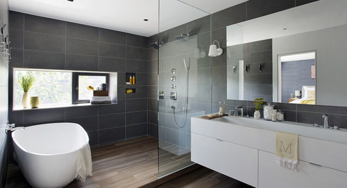 Your Guide to Shower Floor Materials (12 photos)